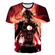 Summer new dragon ball Z T-shirt for men summer 3D printing super wild goose goku black zamasu bejita casual