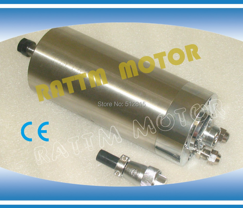 1.5KW WATER-COOLED SPINDLE MOTOR 80x188mm ER11 220V for CNC ROUTER ENGRAVING MILLING GRINDING MACHINE new product 300w er11 high speed cnc spindle motor kit for engraving milling cnc router machine