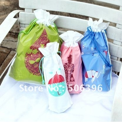 Free Shipping Korean Fashion underwear/swimming/towel/shoes/clothes travel waterproof storage bag holder pouch 4pcs/set F16