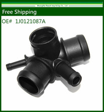 e2c Free Shipping New Cooling Hose Connector For 99-04 VW Golf Jetta Audi TT TT Quatro OE#: 1J0 121 087A / 1J0121087A(China)