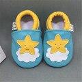 Lindos Zapatos de Bebé de Cuero Genuino Slip-on Soft Mocasines Bebé Niños Recién Nacidos Muchacha Del Niño Zapatillas chaussure garcon menino tenis