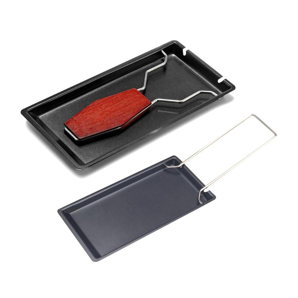 Portable Swiss Cheese Oven Mini Non-stick Butter Cheese Baking Pan Scottish Style BBQ Dish durable Baking tray image