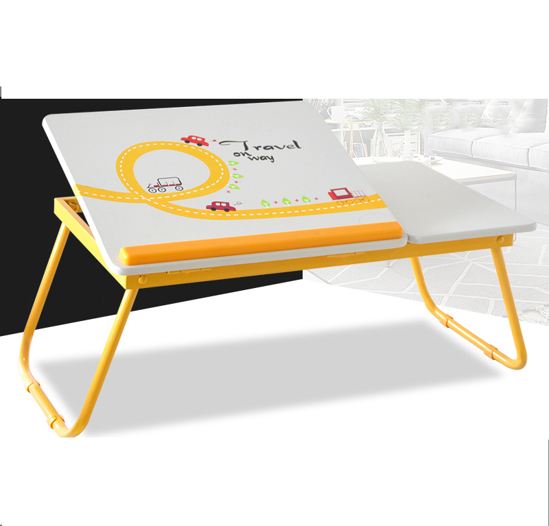 Folding Laptops Desk Table Computer Table On The Bed Student Simple Household Learning Table Portable free installation simple folding desk modern portable dinner table 60 40cm