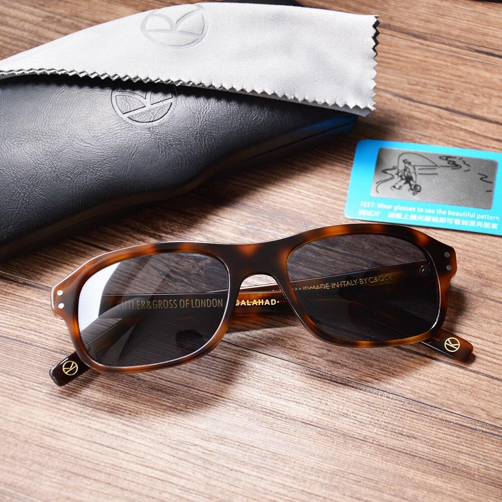 7b8ef1c3d4 Reino Unido Kingsman Retro Vintage de gran tamaño gafas de sol para  hombres, diseñador de marca, polarizado UV400 leopardo cuadrado gafas de  mujeres
