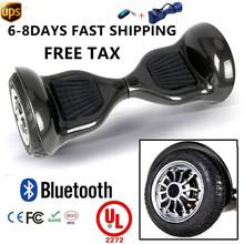 Hoverboard electric drift double wheel self Balancing Scooter Skateboard 10 CE
