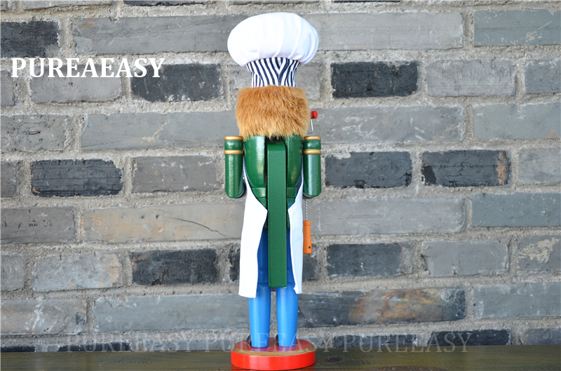 chef nutcrackers estátuas artesanato