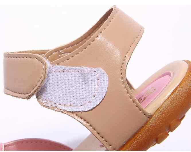 12ed3951cee5a ... Nouveau 2019 été fille sandales chaussures sandales antidérapantes  taille 21-30 bébé sandales