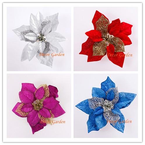 Wholesale 5colors 20cm For Christmas Decoration Artificial