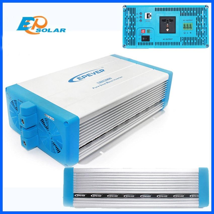 2kw 2000w off grid for solar inverters 24v 48v to ac 220v 230v output pure sine wave EPEVER EPsolar solar micro inverters ip65 waterproof dc22 50v input to ac output 80 160v 180 260v 300w