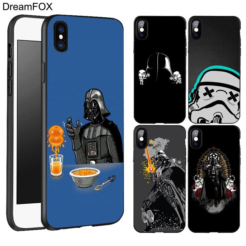 DREAMFOX K210 star wars Black Soft TPU Silicone Case Cover