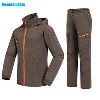 Mężczyźni i Kobiety Szybkie Pranie Oddychająca Kurtki Spodnie Sportowe Na Świeżym Powietrzu Trekking Wędrówki Mężczyzna Kobieta Dres Zestawy Garnitur Odzież Marki MA023