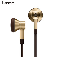 원래 EO320 1MORE 피스톤 이어폰 전화 마이크 IOS 안드로이드 샤오미 EO320 이어폰 헤드셋