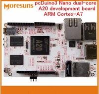 Fast Free Ship PcDuino3 Nano Dual Core A20 Development Board ARM Cortex A7 Far Above Raspberry