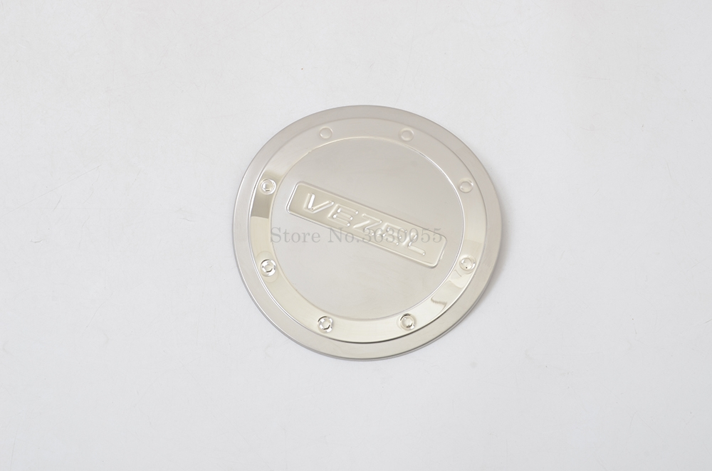 For <font><b>Honda</b></font> VEZEL <font><b>hrv</b></font> 2013-2015 stainless steel fuel tank cap oil gas cap cover trim <font><b>Accessory</b></font> image