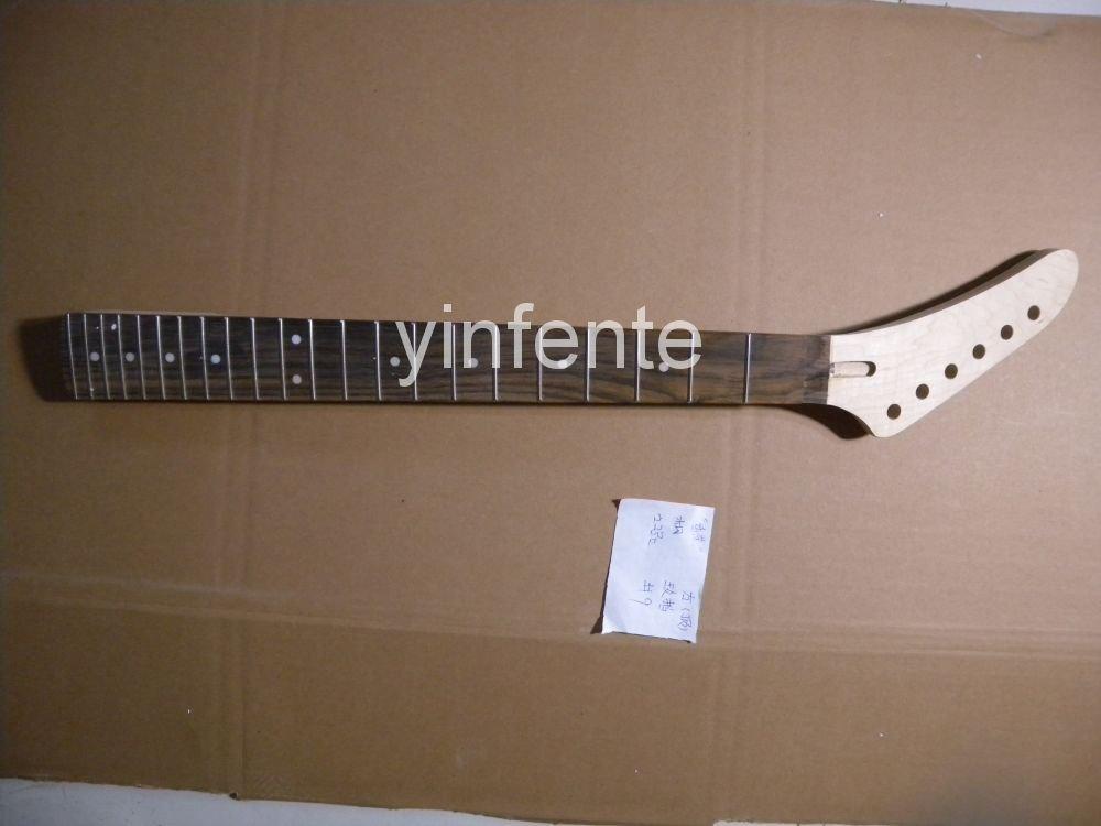 ФОТО New High Quality Unfinished electric guitar neck Solid wood Body &  fingerboard J  model 1pcs #9