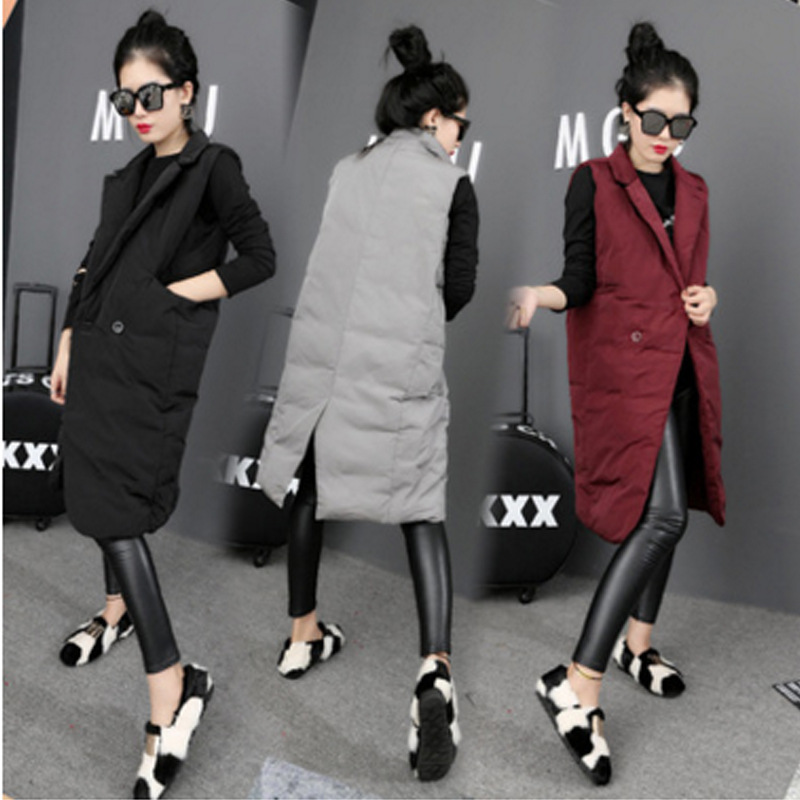 ФОТО new winter jacket women Large  down wadded jacket female cotton-padded jackets thickening women winter coat black red gray