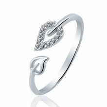 New Fashion Sell Party Leadership Commitment Gift Shining Bright Elements Rings For Women Lovers Open Ring Hot 2017 Wholesale(China)