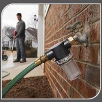Accesorio de filtro de manguera de jardín de malla 40 para arandelas de presión conector de entrada de bomba 3/4 pulgadas _ WK|Tipo de conector de agua del jardín|   -