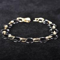 Dazz New Black Ceramic Bracelets Gold Silver Color Keramisch Bileklik Shining Ceramics Fine Stone Pulsera Feminina Accessories