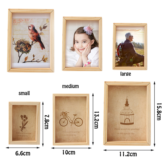 1PC Vintage Multi Decorative Photo Frame Online Home Decor Art ...