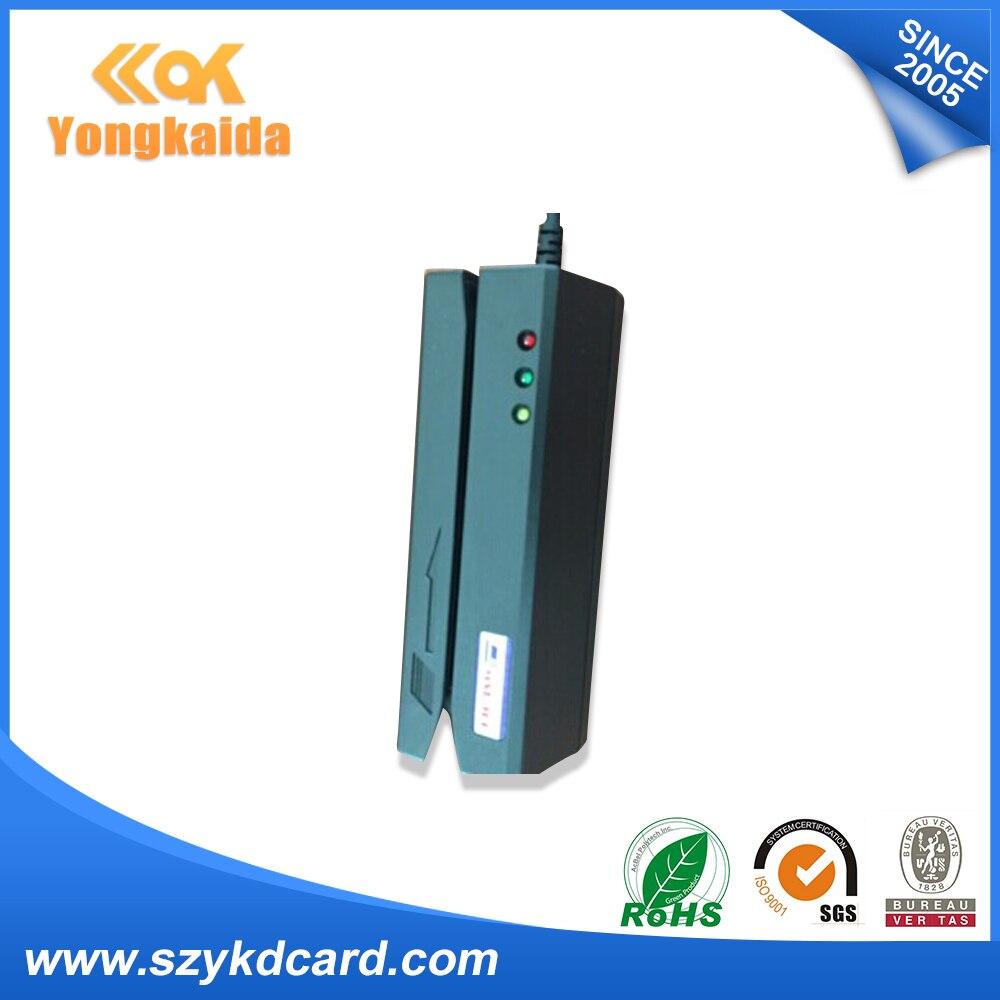 YongKaiDa 3pcs Package USB MSR900 magnetic stripe write reader for magnetic stripe cards