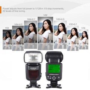 Image 2 - TRIOPO TR 960 II Flash Speedlite Speed Light Manual Zoom Speedlite Flash Light for Nikon Canon Pentax SLR Camera Flash Speedlite