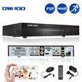 OWSOO 4CH 960 H DVR CCTV Gravador De Vídeo D1 H.264 P2P Segurança Mini DVR 4CH HD/VGA/BNC de Saída RS485 E-mail de Alarme para Home Security