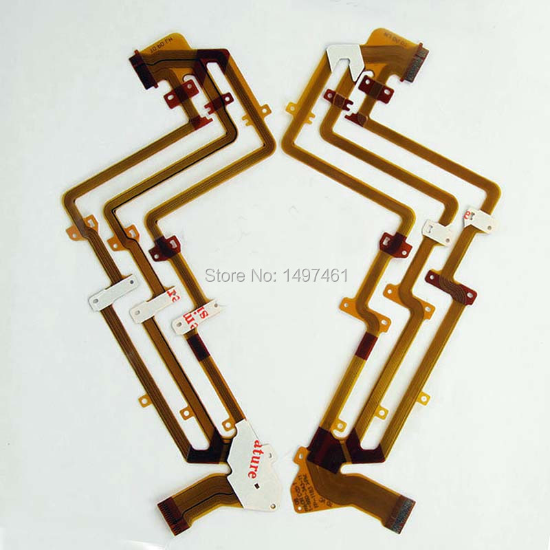 2PCS LCD hinge rotate shaft Flex Cable for <font><b>Sony</b></font> DCR-SX73E DCR-SX83E HDR-CX110E SX73 SX83 <font><b>CX110</b></font> CX115 CX116E Video camera image