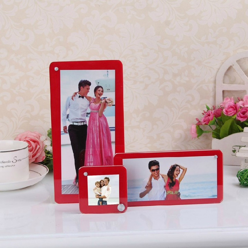 Counter desktop freestanding multi frame plexiglass photo counter desktop freestanding multi frame plexiglass photo picture frames pf032 in frame from home garden on aliexpress alibaba group jeuxipadfo Images