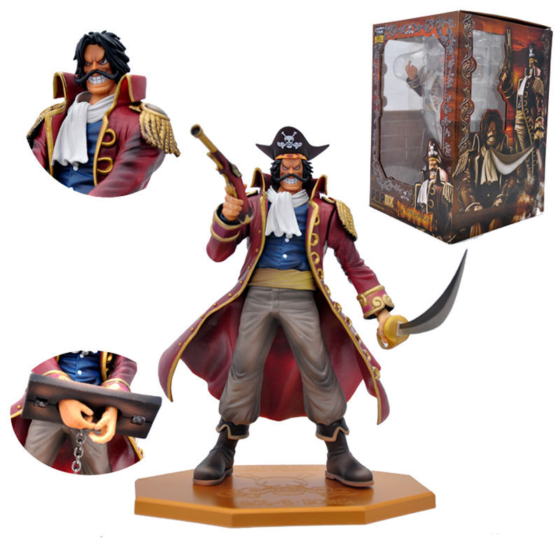 One Piece Gol D Roger PVC Action Figure Collectible Model Toy 26CM kunai neca planet of the apes gorilla soldier pvc action figure collectible toy 8 20cm
