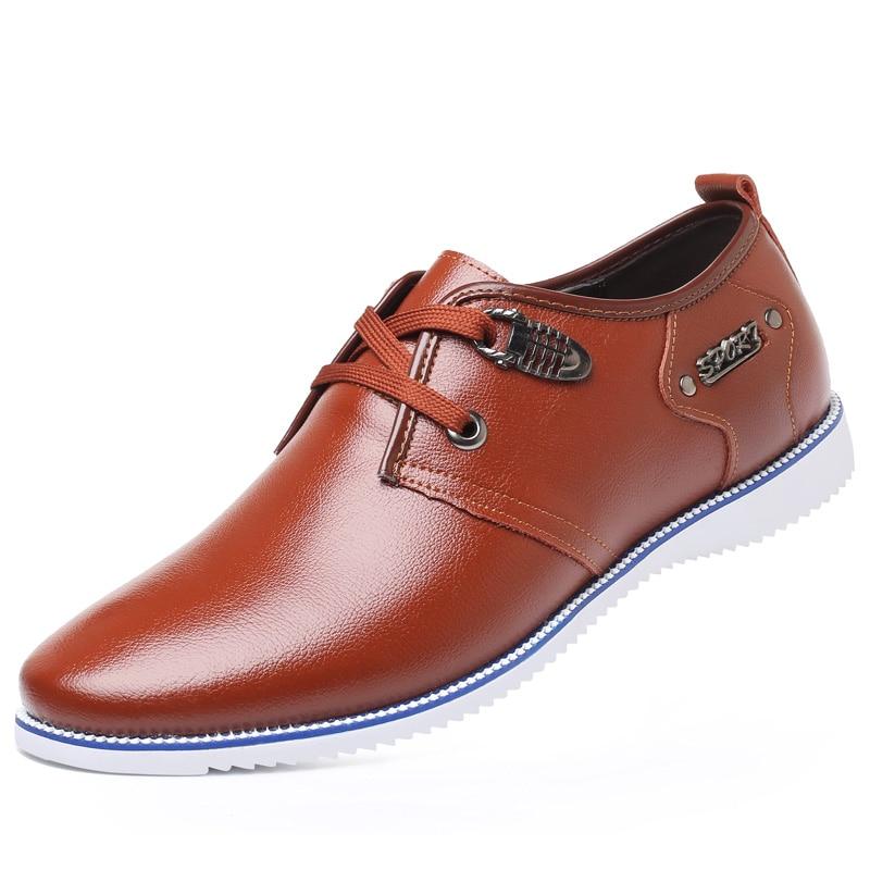 Ao Desodorante Coreano Outono Sapatos resistente vermelho amarelo De Grande Jovens Dos Não Desgaste Flats Casuais Pop Preto slip Macio Couro Primavera Agradável Homens Genuíno Tamanho qvxU6rq