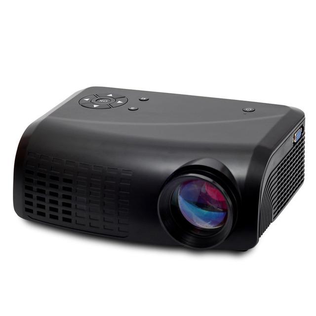 E07 MINI Projetor Full HD LED Projetores Com HDMI AV/VGA Digital Home Theater Projetor Portátil EUA/REINO UNIDO/Padrão DA UE/UA