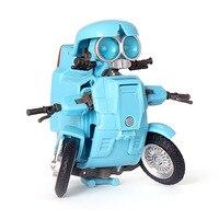 Jouets pour enfants du film, KBB, 8cm, Transformation de figurines, modèles de voiture, Robots, déformation Sqweeks D, jouet pour Mini moto