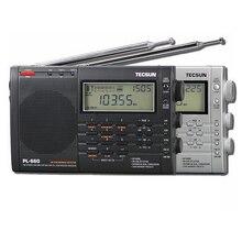 Lusya Tecsun PL 660 휴대용 스테레오 라디오 고성능 풀 밴드 디지털 튜닝 FM AM 라디오 SW SSB I3 001