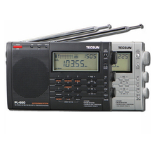 Lusya Tecsun PL 660 แบบพกพาวิทยุสเตอริโอประสิทธิภาพสูงแบบดิจิตอลแบบเต็มรูปแบบวิทยุFM AM SW SSB I3 001