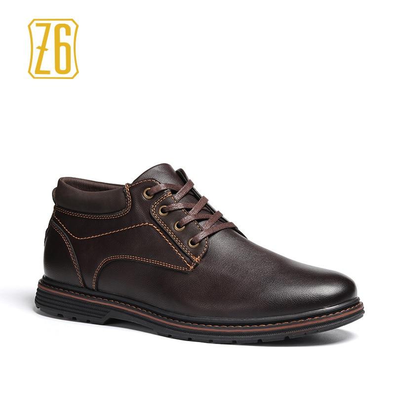 material seleccionado mejor selección de mejor calidad € 20.83 40% de DESCUENTO Primavera de 2019 hombre Botas de seguridad de  marca de moda de trabajo de los zapatos de los hombres # R136 en Botas  básicas ...