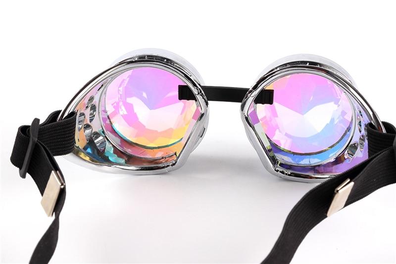 Óculos de Solda Óculos de Cyber Punk Gótico do vintage Steampunk ... dd5b471d1d