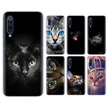 cat kitty blue eyes cute animal Silicone case for Xiaomi Mi 9 8 A2 Lite Play Mix3 Redmi 6 6A Note 6Pro 7 Pro TPU Soft Phone case(China)