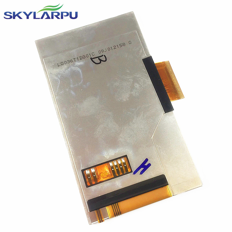 skylarpu New 3.5 inch LQ036T1DG01 LQ036T1DG01C LQ036T1DG01B LCD Display Panel with Touch screen digitizer Free shipping original new 3 6 inch lcd lq036t1dg01 lq036t1dg01c lq036t1dg01b lcd display panel with touch screen digitizer free shipping