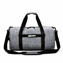 Gray Oxford Men Gym Bag Travel Waterproof Skiing Storage Bag Large Capacity Women Fitness Crossbody Bag Outdoor Sporting Bag