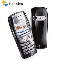 2018 Hot sale Fashion Original Nokia 6610 6610i Unlocked GSM Bar Mobile phone Suppport English/Russian/Arabic Keyboard