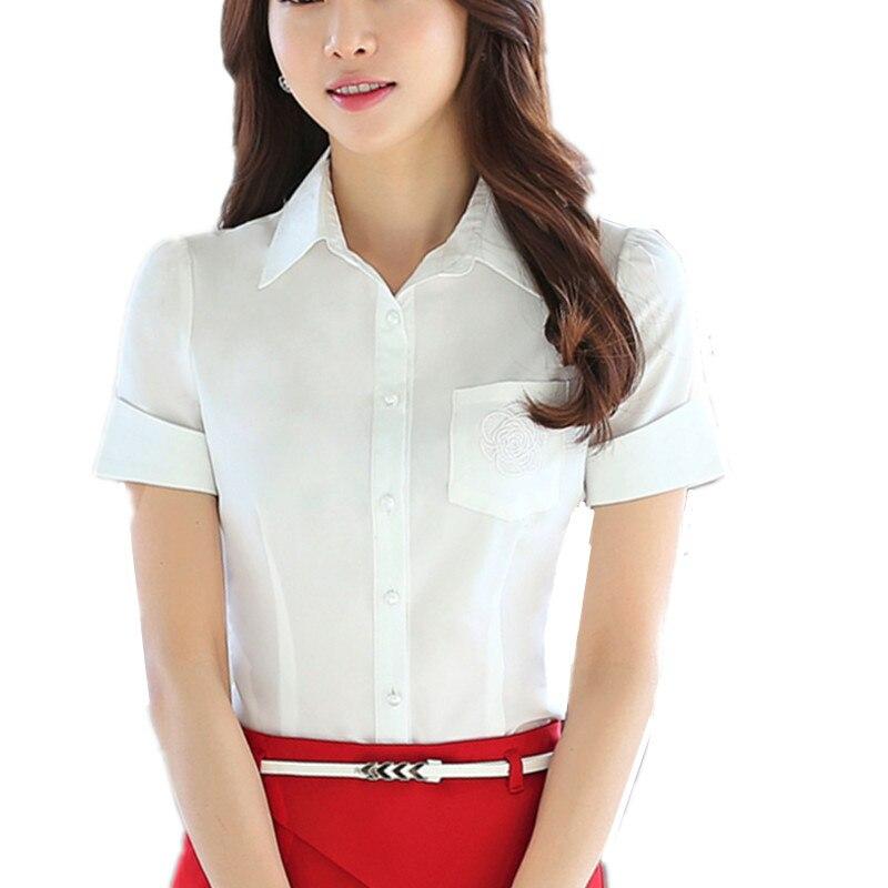 Online Get Cheap Short Sleeve Button Down Shirt Women -Aliexpress ...