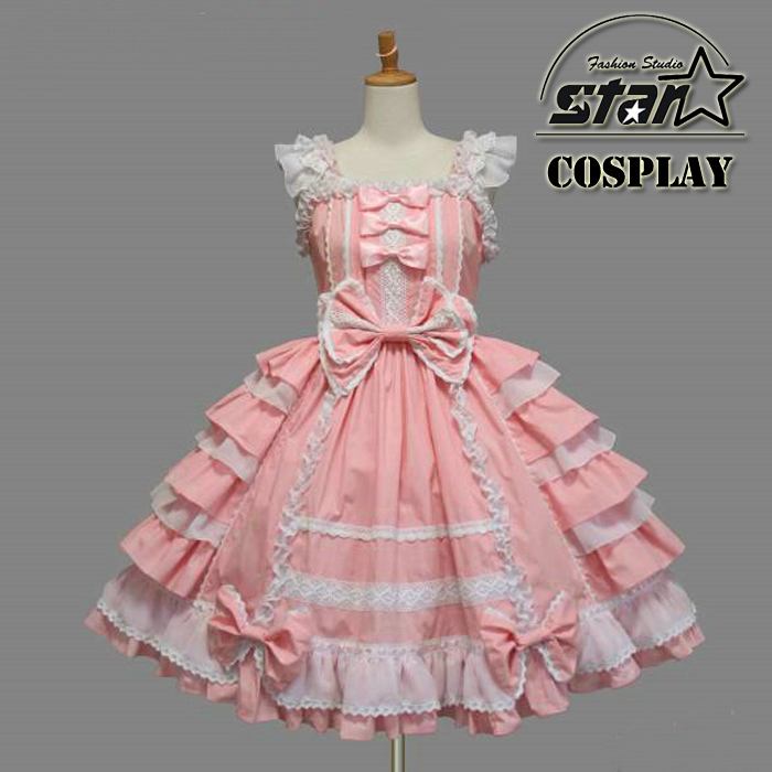 Children Doll Tailored Dress Lolita Dress Chiffon Lace Medieval Gothic Dress Princess Cosplay Halloween Costumes for Girl Gown american girl doll clothes halloween witch dress cosplay costume for 16 18 inches doll alexander dress doll accessories x 68