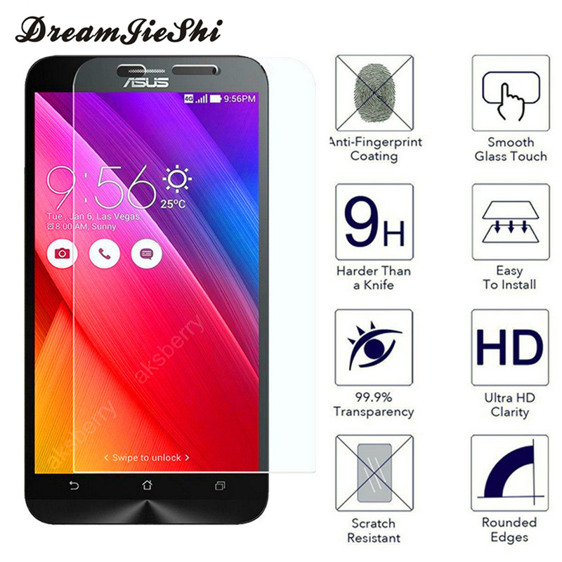 Dreamjieshi Speciality Store Explosion-proof Tempered Glass Screen Protector Film For Asus Zenfone 2 Laser ZE500KL ZE550KL ZE601KL GO ZC500TG Selfie ZD551KL