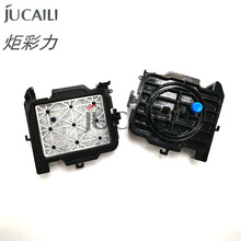 Jucaili 2PCS DX5 Mimaki jv33 capping station for DX5 DX7 printhead for Mutoh mimaki lecai xuli galaxy solvent printer cap top стоимость