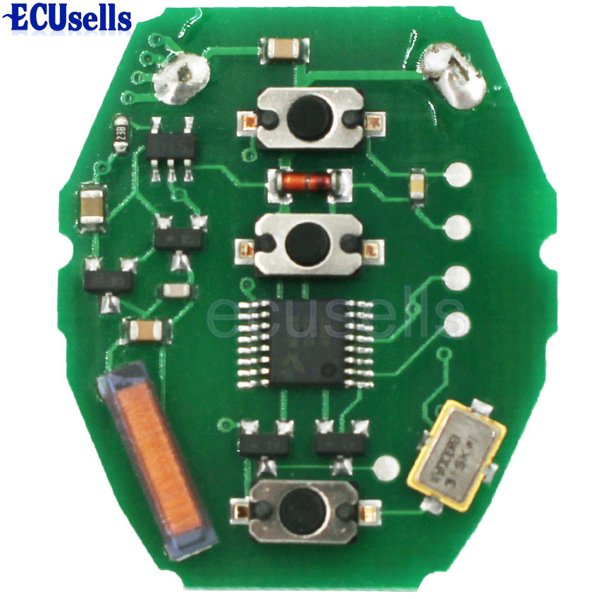 ews remote 3 button pcb board 433mhz for bmw e46 keyless. Black Bedroom Furniture Sets. Home Design Ideas