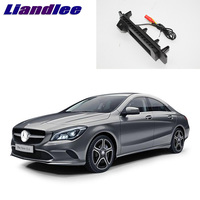 LiandLee Car Trunk Handle Rear View Reversing Parking Camera For Mercedes Benz CLA Class MB C117 2015~2018