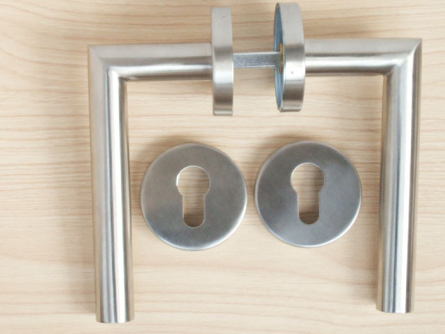 Prs door decoration stainless steel lever tube