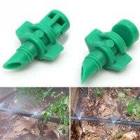 1000 stks/pak Eenvoudige 90 Graden Breking Nozzle Tuinplanten Irrigatie Sproeikop Mist Spuit Druppelirrigatie Fittings M122