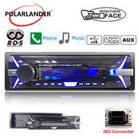 Autoradio 3.5 Inch Detachable Panel car radio 1 Din Audio Radio AM FM TF/USB 12V MP3 Stereo RDS+ Bluetooth radio cassette player